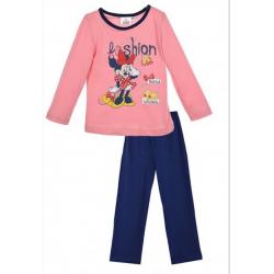 Pyjama mini  rose et bleu marine