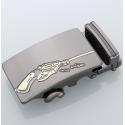 Boucle automatique pistolet gravé