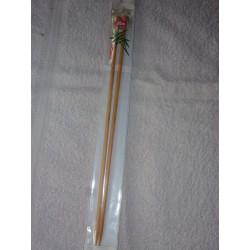 Aiguilles Bambou à Tricoter 33 Cm N° 5 mm