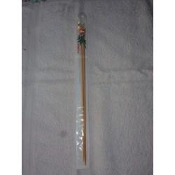 Aiguilles Bambou à Tricoter 33 Cm N° 4 mm