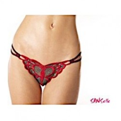 String Papillon Bi Couleur