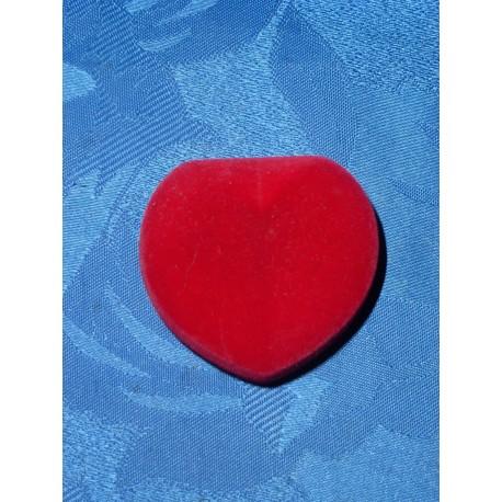 Coffrets cœurs à bijoux rouge