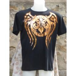 T-Shirt avec dessins devant et derrière