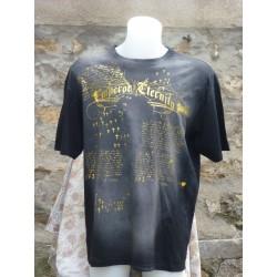 T-Shirt écritures devant